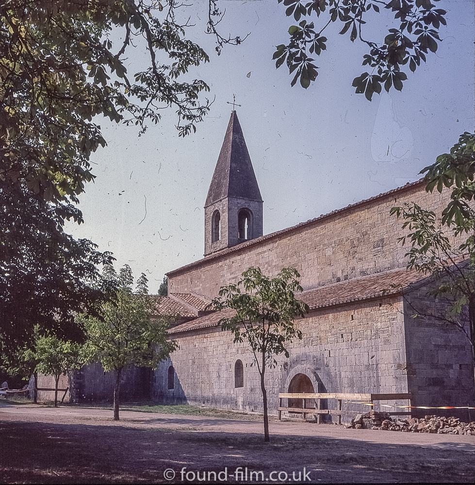 Views around Europe - 12th Century Abbey Thoronet France, 1979