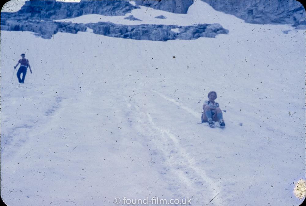 Anscochrome Film - Fun in the snow
