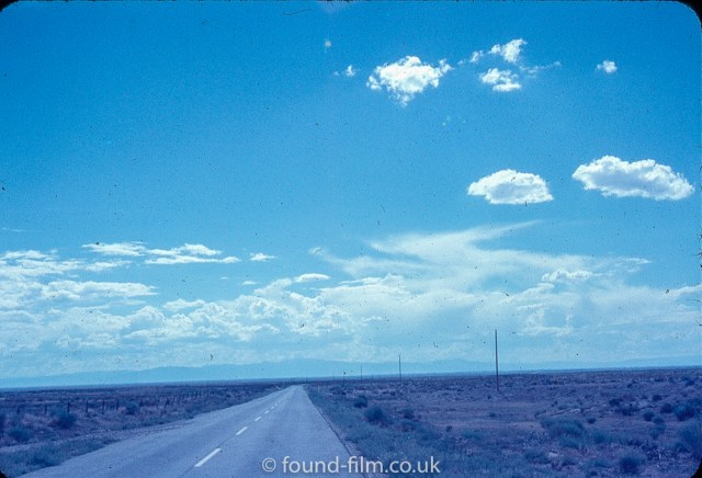 The long road and the sky