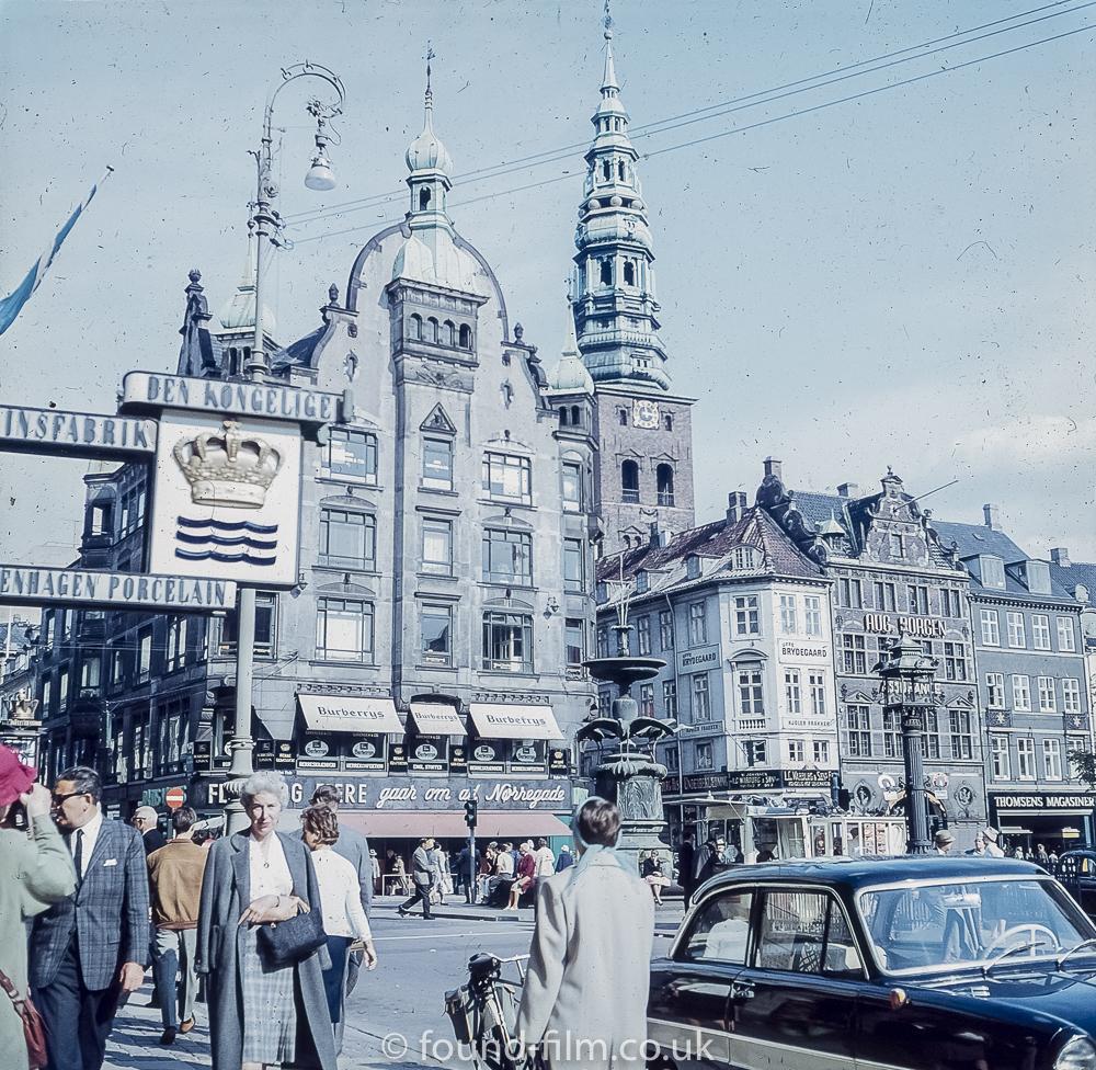 Burberrys store in Copenhagen mid 1950s