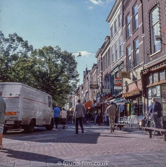 Views around Europe - Delft in Holland, 1980