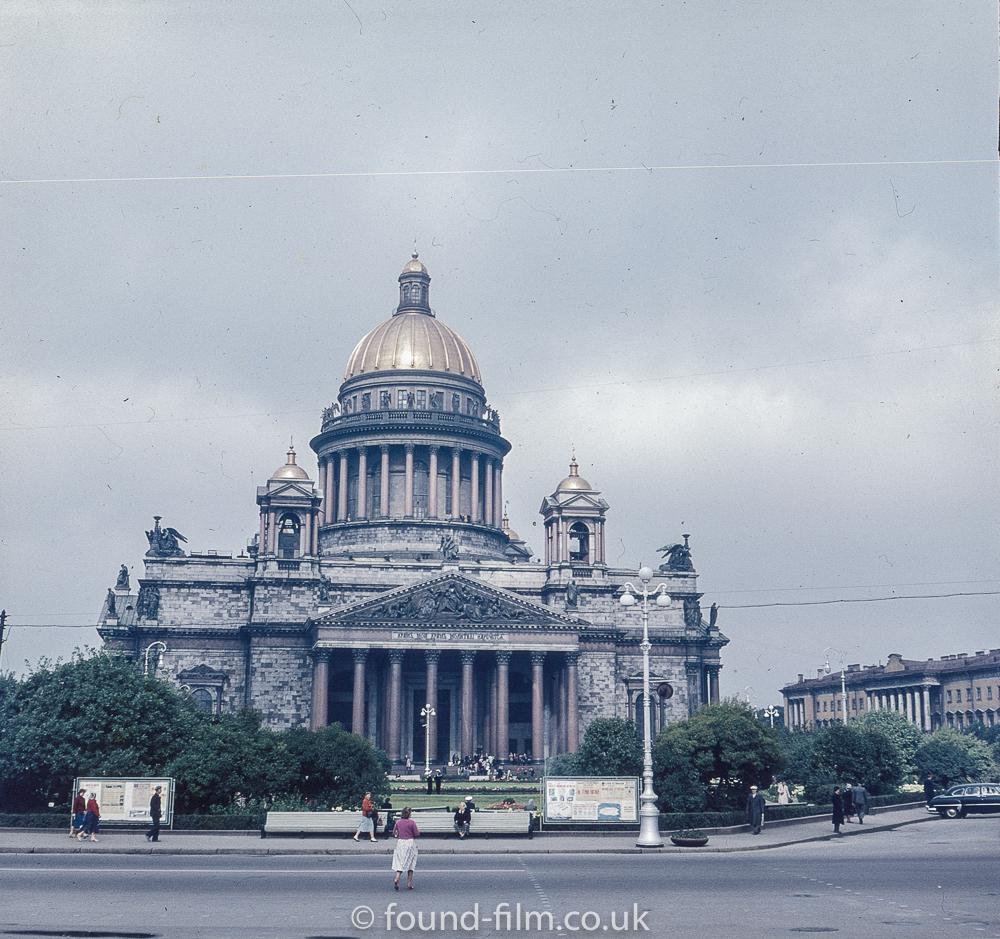 Images from Soviet era Leningrad - St Isaacs Cathedral