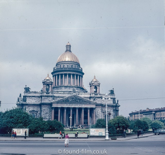 Images from Soviet era Leningrad - St Isaacs Cathedral