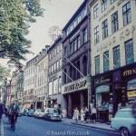 Street in Copenhagen late 1950s