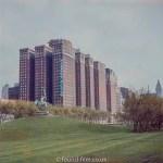 The Conrad Hilton Hotel Chicago in the late 1950s