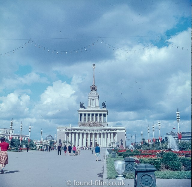 Images from Soviet Era Moscow - The Exhibition in Moscow - 1957