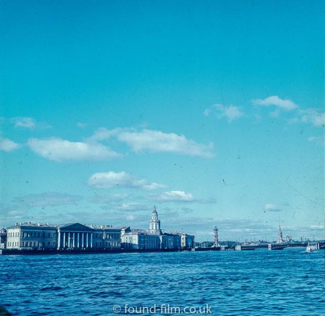 Images from Soviet era Leningrad - The Neva river