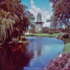 Leiden windmill - 1957
