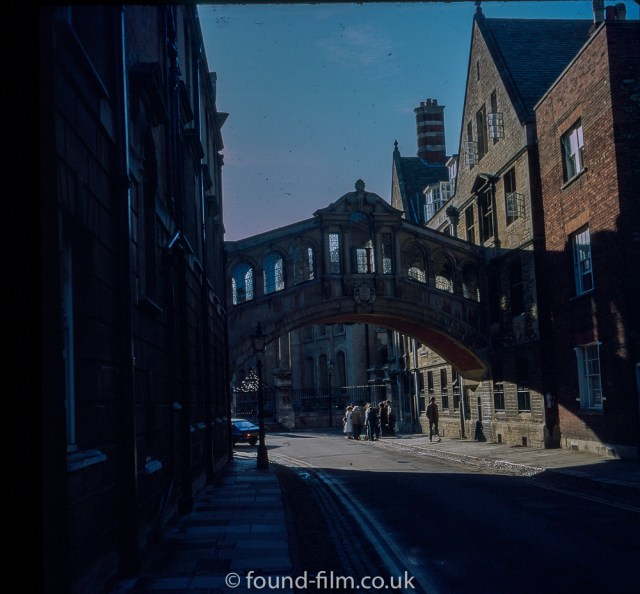 Pictures of Oxford - Bridge of Sighs