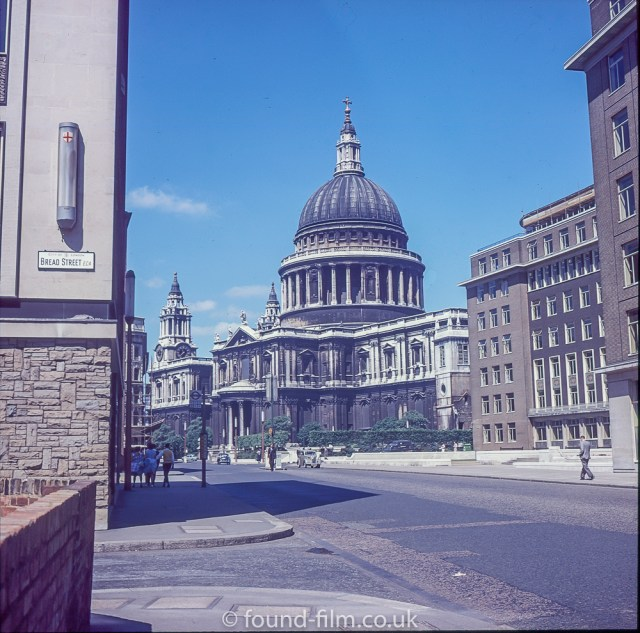 St Paul's Cathedral in London c1975