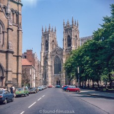 York Minster in the mid 1970s