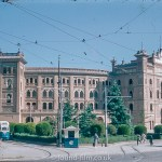 The Bull ring in Madrid in 1955