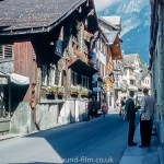 The Mountain village of Engelberg in the 1950s