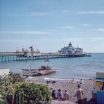 Seaside Pier at Eastbourne probably in the 1960s
