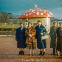 Lost amateur photos from the 1950s