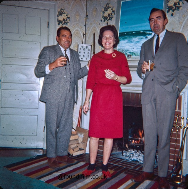 Christmas Drinks late 1950s style