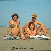 Holiday photos in the found-film archive