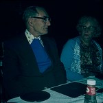 A boots colour slide showing a poorly lit portrait of a couple in a restaurant