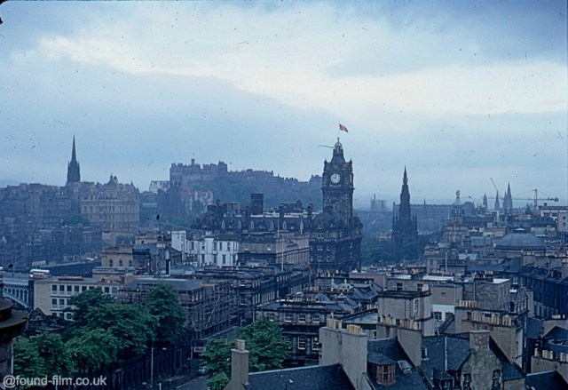 A Picture of the Edinburgh skyline in July 1967