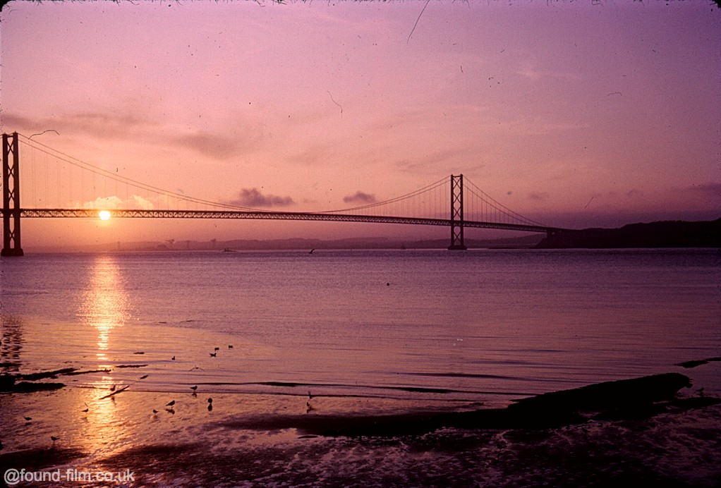 Snapshots in time: The Forth Bridge – Aug 1967