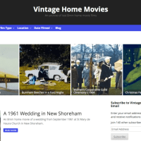 My new Vintage 8mm films archive site