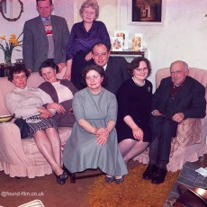 Family group at home - c1960