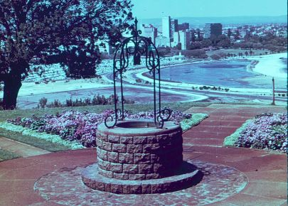 A Wishing Well in Kings Park, Perth