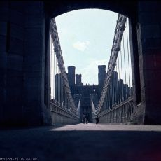 The Bridge at Conwy Castle in Wales