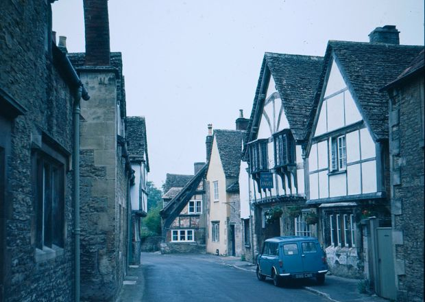A Photo of Lacock from June 1977