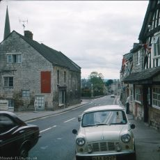 Painswick in Gloucestershire pictured in June 1977
