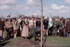 A Tree planting ceremony from May 1981
