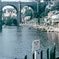 River Trips at Knaresborough in the mid 1960s