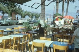 A Cafe in Corsica from 1962