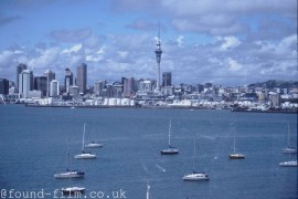 Auckland city skyline from May 2003