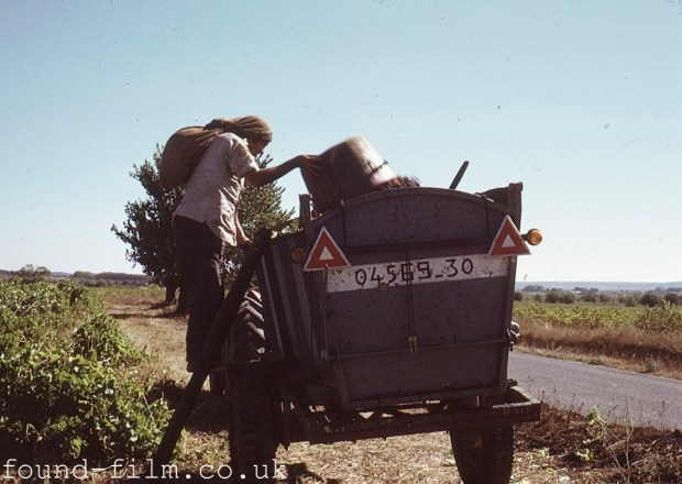 French agricultural worker - 1974