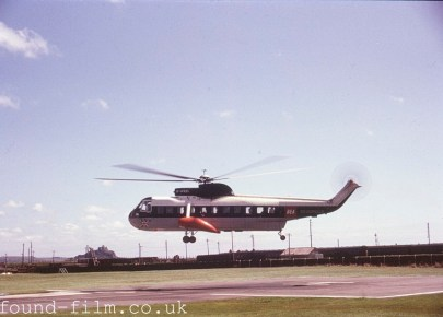 Scilly Isle helicopter 1974