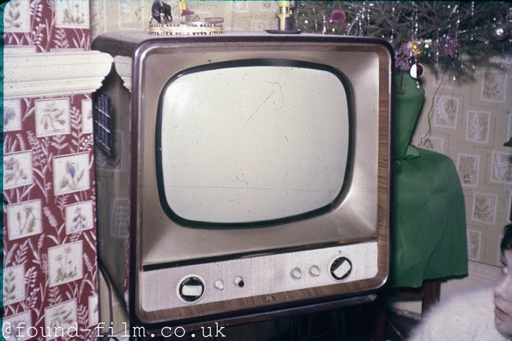 A Pye table-top TV from the mid 1960s