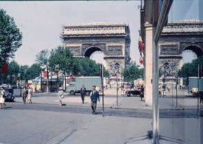 A Picture taken on the eve of Bastille day in 1965