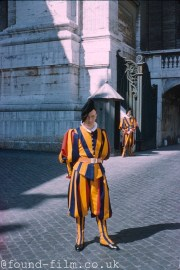 A member of the Vatican Swiss Guard from 1958