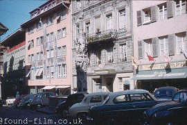 The old town in Lucerne - about 1962