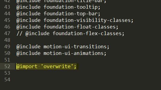 Foundation Sass イメージ2
