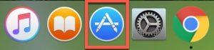 App Storeを開くイメージです