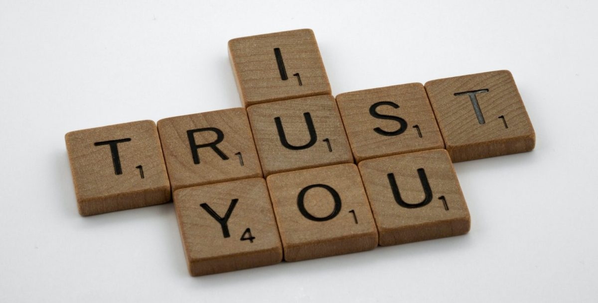 I trust you spelled out in Scrabble letter blocks