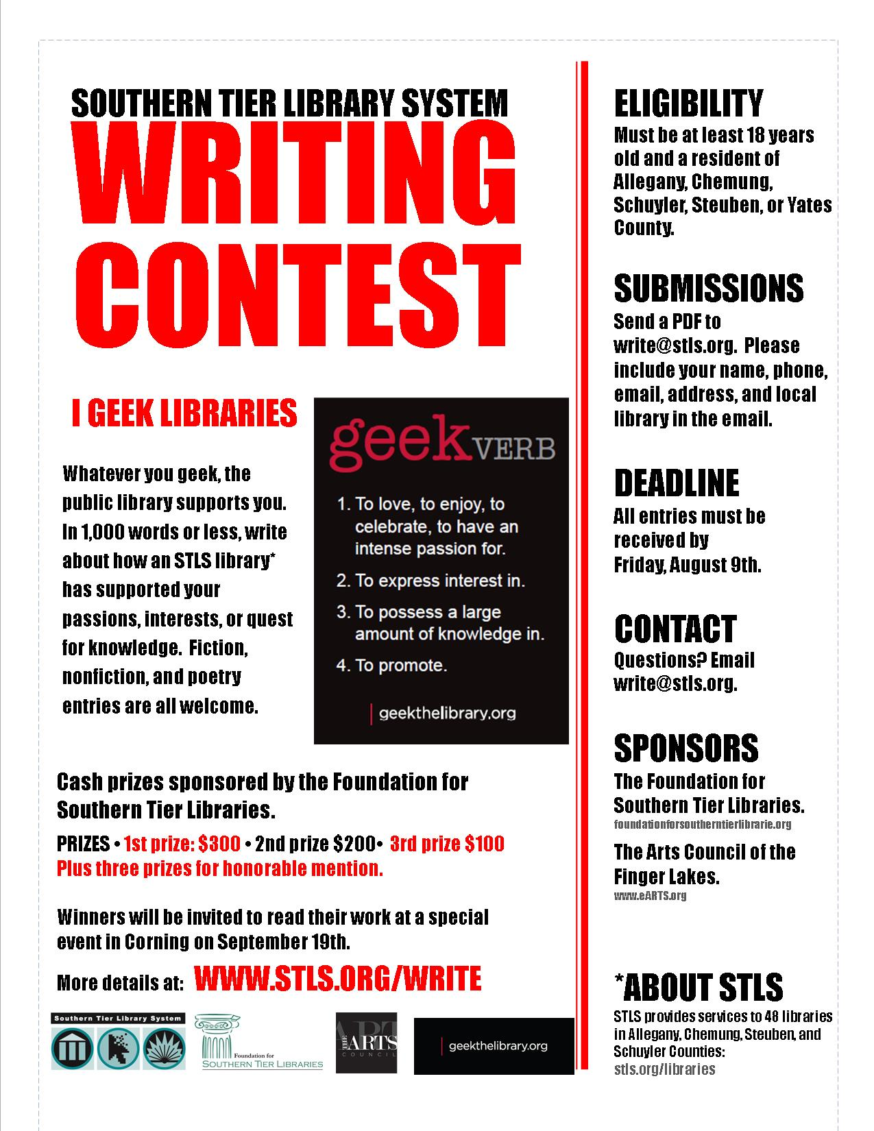 Writing Contests For Adults
