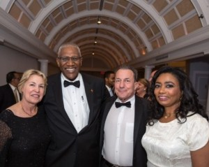 Sir Rodney and Lady Williams with Mr. Neal Simon, President of AUA