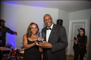 Sir Rodney with Kathy Sledge