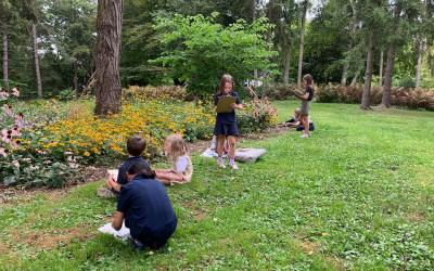 Exploring Botany and Art Outdoors