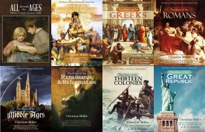 History books from Nothing New Press