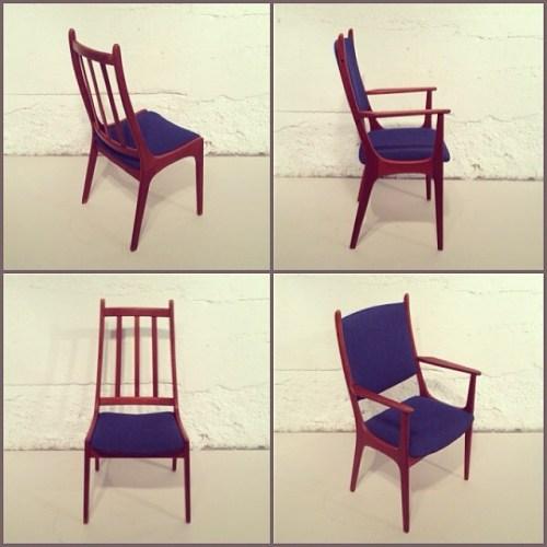 x6 Kai Christensen Dining Chairs