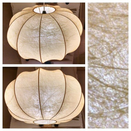 Vintage Cocoon Lamp